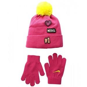 Patch Play Beanie Gloves Set (Little Kids)