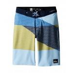 Highline Slash Boardshorts (Big Kids) Dusk Blue