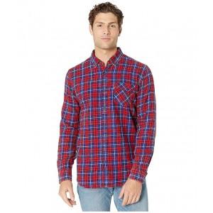 Mondy Slub Twill Shirt Crimson