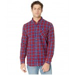 Mondy Slub Twill Shirt Crimson