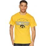 Iowa Hawkeyes Jersey Tee 2 Champion Gold