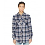 Always Adventure Long Sleeve Shirt Nocturnal Plaid