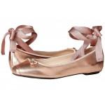 Downtown Ballet Rose Gold Metallic Leather