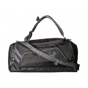UA Contain Duo Backpack/Duffel Black/Black/Silver