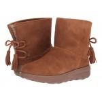 Mukluk Shorty II Boots w/ Tassels Chestnut