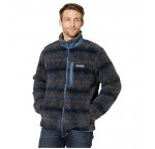 Winter Pass Print Fleece Full Zip