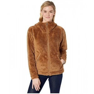 The North Face Furry Fleece Hoodie Cedar Brown Prior Season