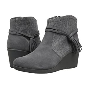 Leigh Suede Mix Bootie Slate Grey