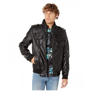 Levis Two-Pocket Military Bomber with Sherpa Lining Black