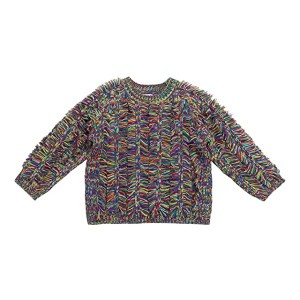 Space Dyed Knit Jumper with Fringes (Toddler/Little Kids/Big Kids)