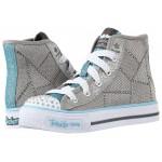 Twinkle Toes - Dazzle Dancer 10694L Lights (Little Kid/Big Kid) Grey/Light Blue
