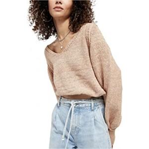 Riptide V-Neck Sweater Neutral
