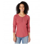 Times Two Knit Henley Beet
