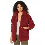 Sherpa Mid Length Zip Front Two-Pocket