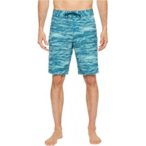 UA Reblek Printed Boardshorts Tropical Tide Desert Sky Tourmaline Teal