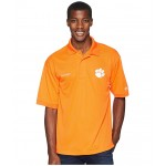 Collegiate Perfect Cast Polo Top Clemson/Spark Orange