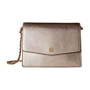 Robinson Metallic Shoulder Bag Light Rose Gold