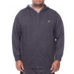 l/s full zip fleece hoodie (b&t)