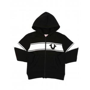 true religion logo stripe hoodie (4-7)