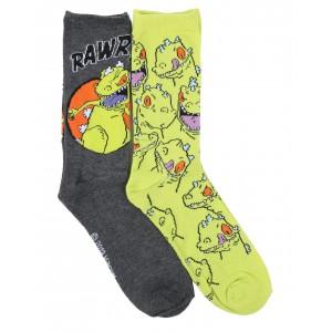 2 pack reptar crew socks