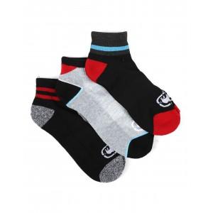 3 pack 1/2 cushion quarter socks