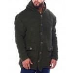 elongated hoody sweater (b&t)