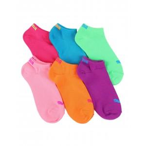 6 pack no show socks (4-9.5)
