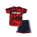 2 pc sport t-shirt & shorts set (2t-4t)