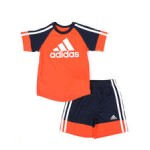 2 pc urban sport t-shirt & shorts set (2t-4t)