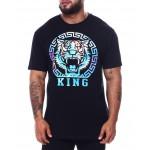 iridescent foil tiger t-shirt (b&t)