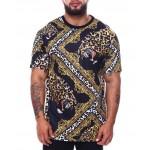 leopard print t-shirt (b&t)