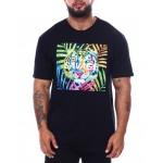 colorful tiger savage t-shirt (b&t)