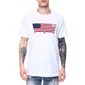 chenille patch americana tab tee