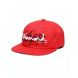 diamond x slayer unstructured snapback hat