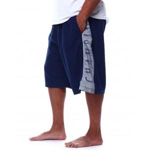 side stripe swim trunk shorts (b&t)