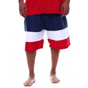 color block swim shorts (b&t)