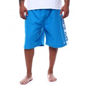 side logo swim trunk shorts (b&t)