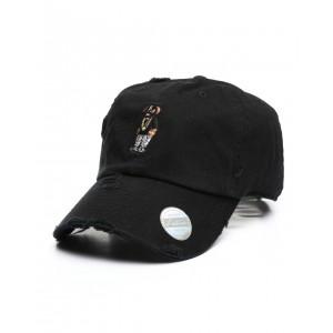 vintage masked bear cap