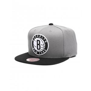 brooklyn nets wool 2 tone snapback hat