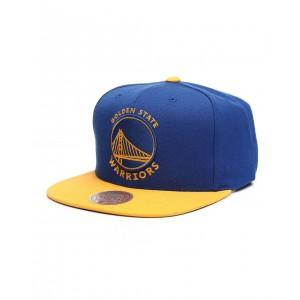 golden state warriors wool 2 tone snapback hat