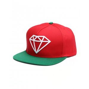 diamond supply 2tone rock snapback hat