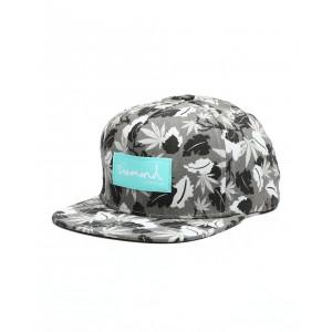diamond supply weed leaf snapback hat