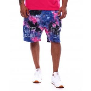 runna tie dye shorts (b&t)