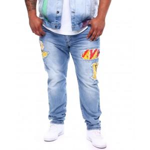 stadium patches jeans (b&t)