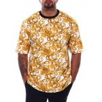 filigree printed t-shirt (b&t)