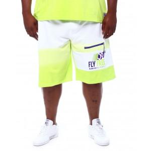 sail dip dye sweat shorts (b&t)