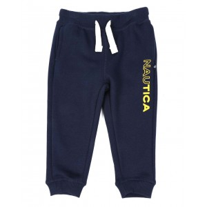 half full logo knit jogger pants (2t-4t)