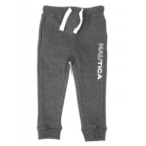 half full logo knit jogger pants (2t-4t)