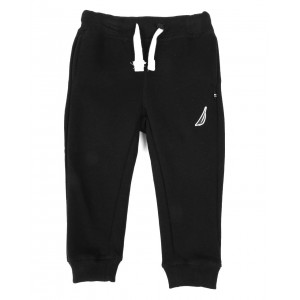 solid knit jogger pants (2t-4t)