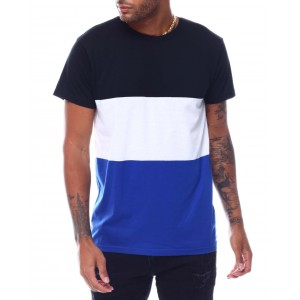ss colorblock tee
